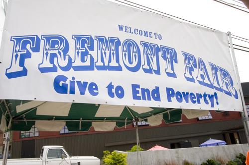 Fremont Fair banner
