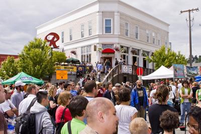 Fremont Fair crowd shot