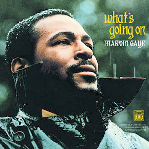 "Album cover of Martin Gaye's legendary ""What's Going On"""