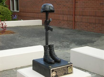 Mikayla Bragg Memorial Statue