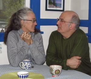 Martha Swain and Mike Buchman