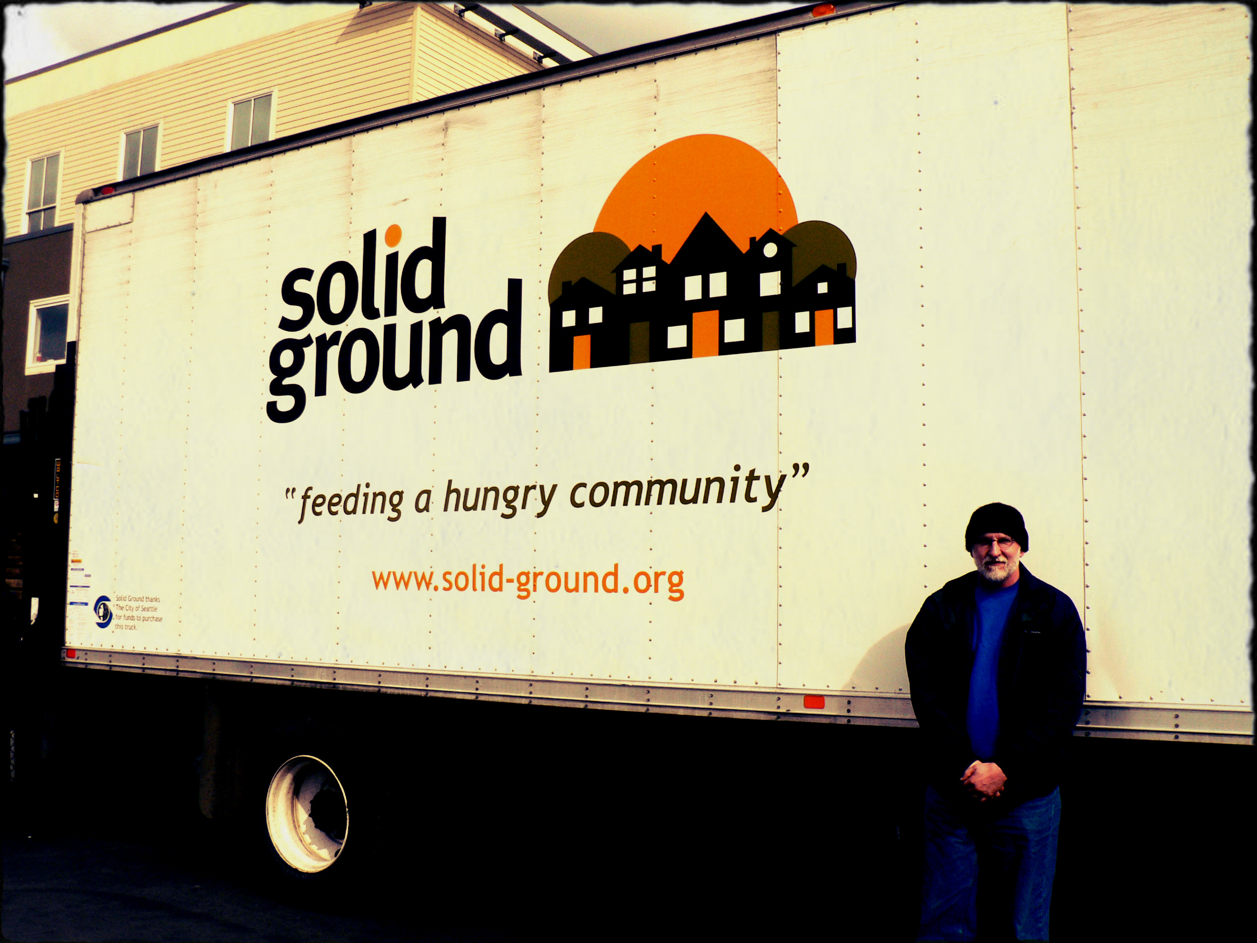 Solid Ground's Food Resources transports produce to local food banks throughout Seattle.
