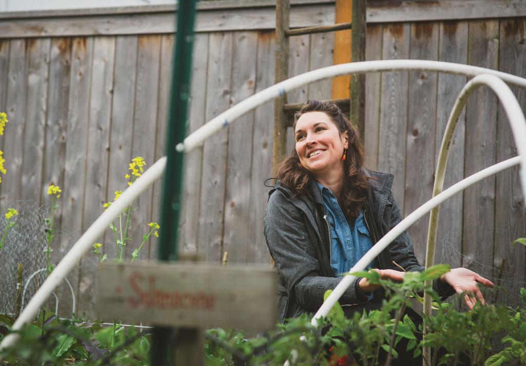 Stacy Davison, Giving Gardener