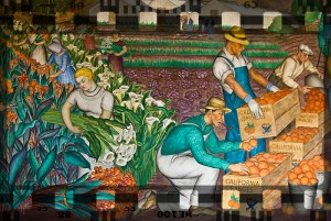 Image from Diego Rivera murals at San Francisco's Coit Tower.