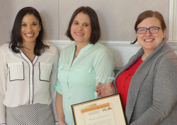 Benefits Legal Assistance (BLA) Team: Danielle Caldwell, Sara Robbins & Katie Scott