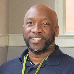 Gerald Wright, Hunger & Food Resources Director
