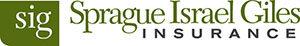 Sprague Israel Giles (sig) INSURANCE logo, green