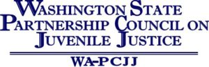 Washington State Partnership Council on Juvenile Justice (WA-PCJJ) logo