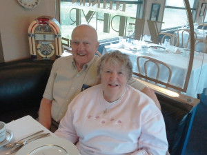 Joe & Helen celebrate their 59th anniversary
