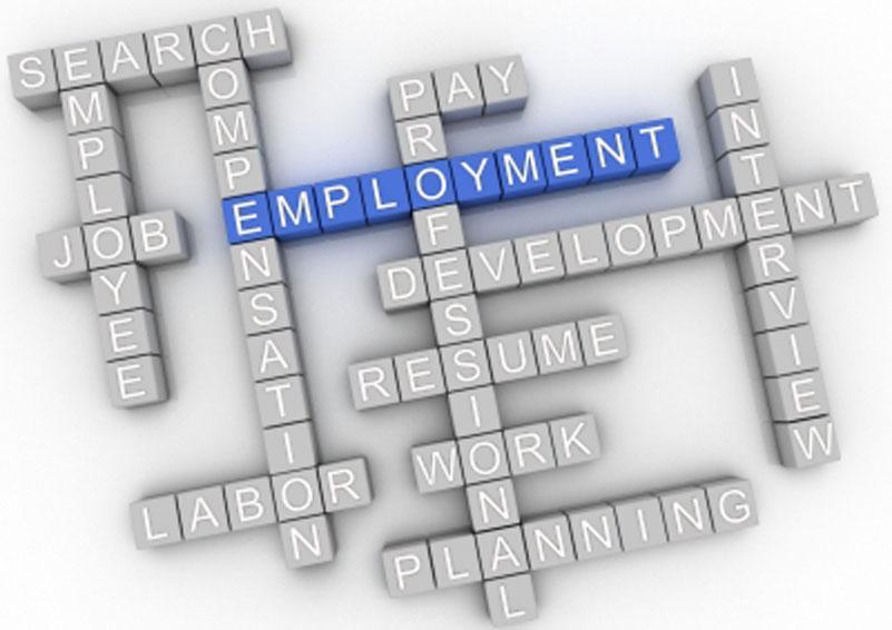 Employment Crossword (by David Castillo Dominici)