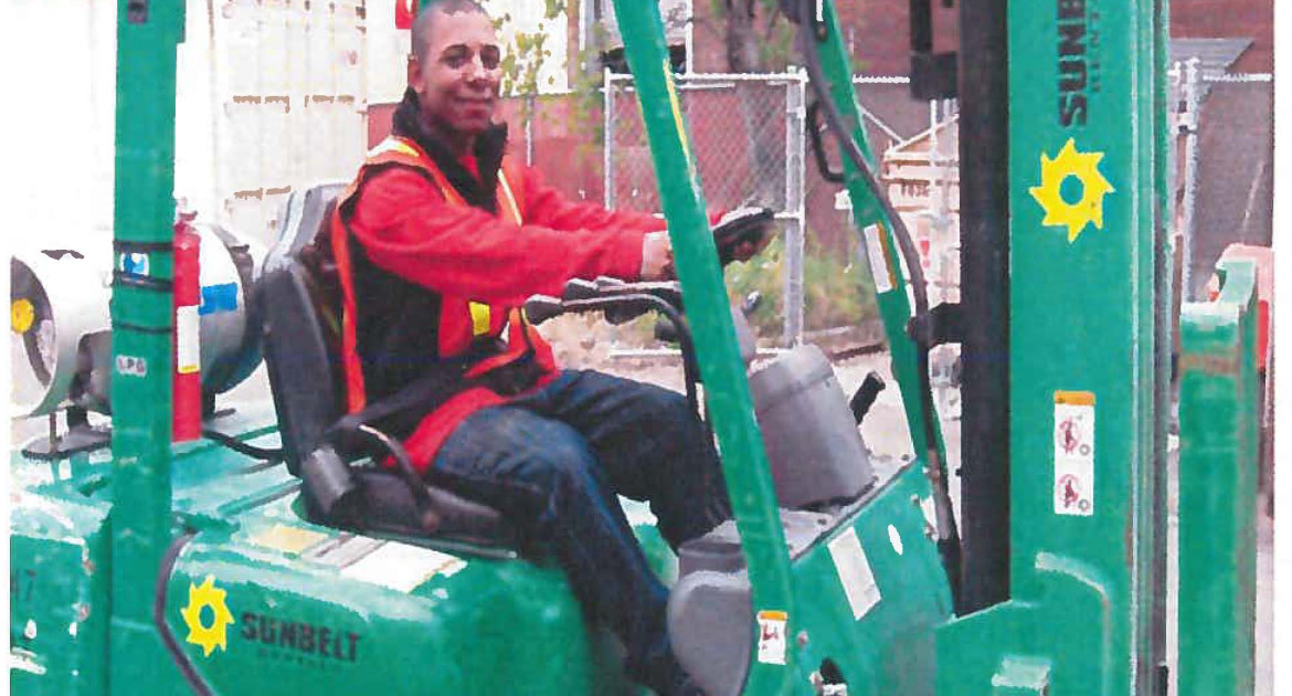 South Seattle College Forklift