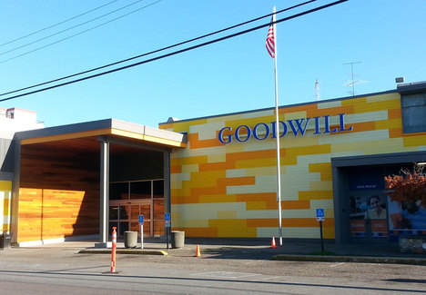 Seattle Goodwill Storefront