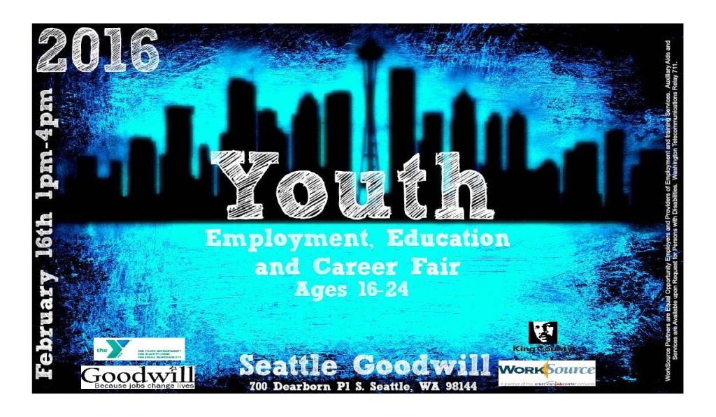 Goodwill Youth Employment Fair Flyer