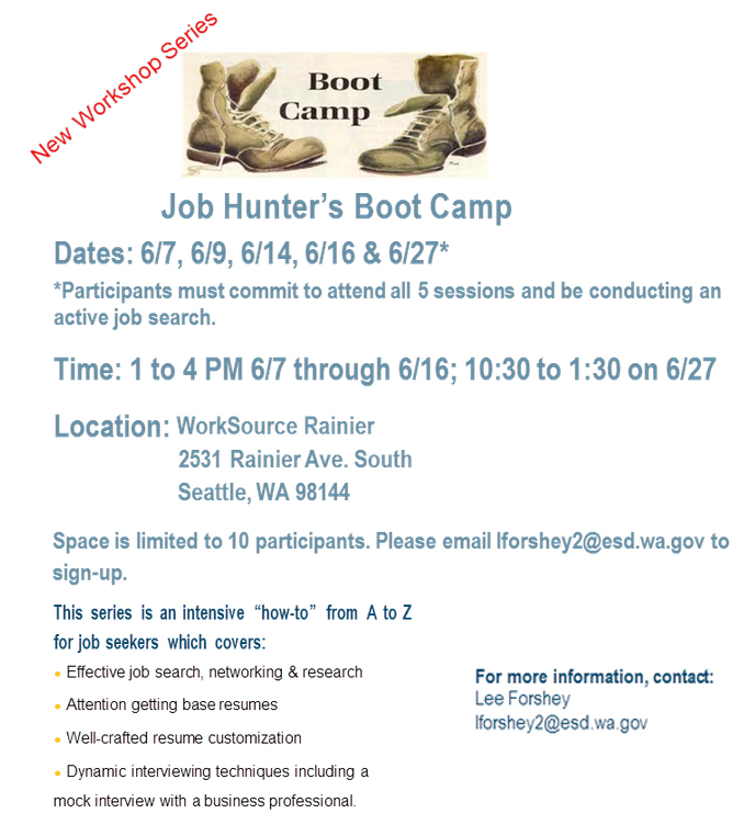 6-7 boot camp flyer