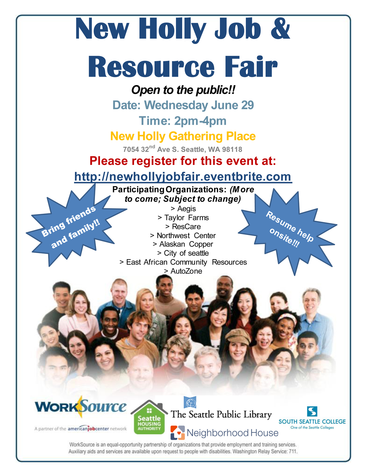 New Holly Job Fair