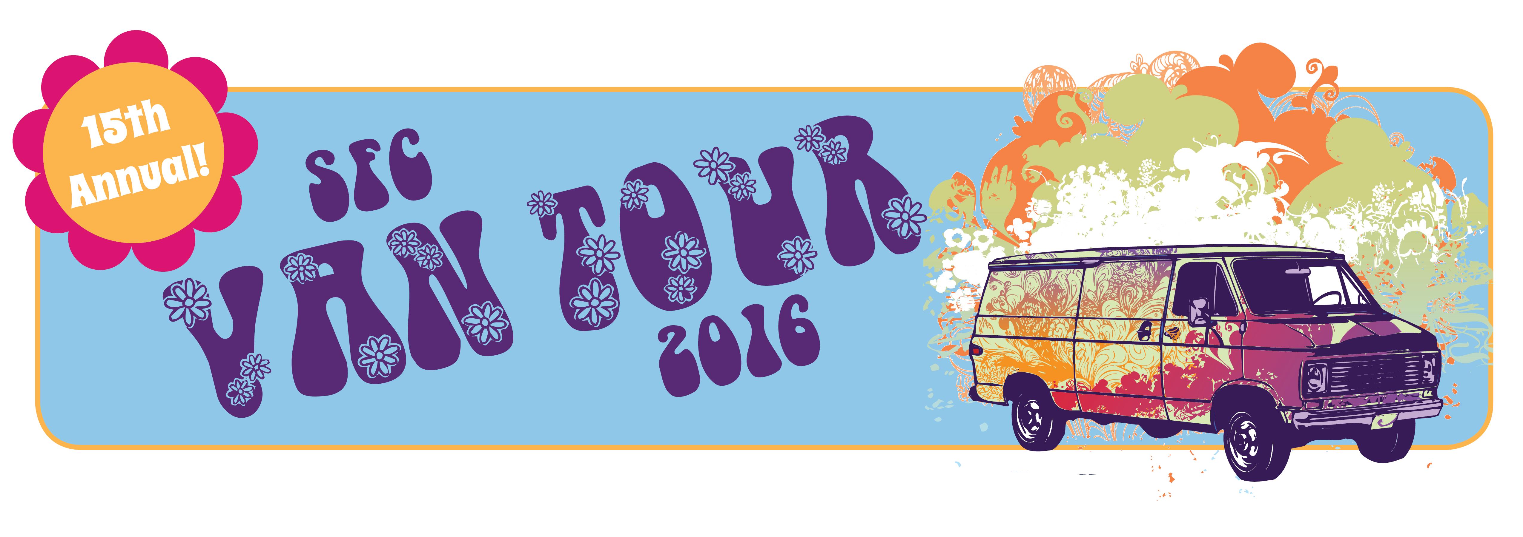 Van Tour 2016 website banner