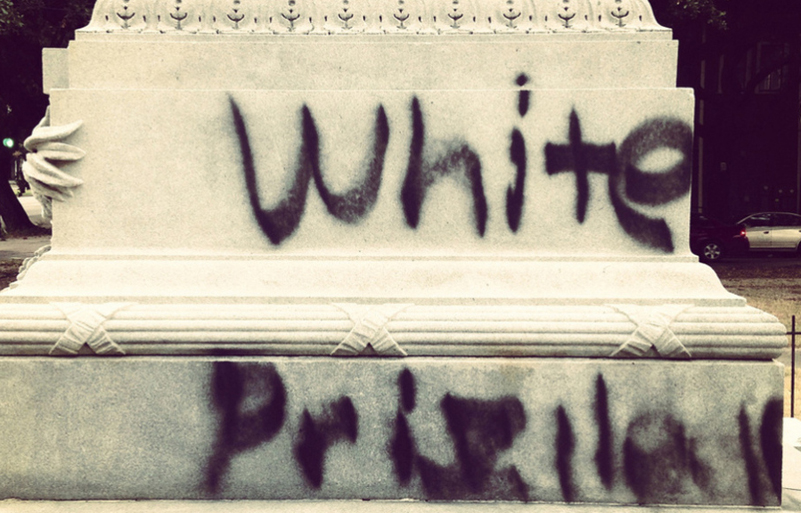 White privilege is...