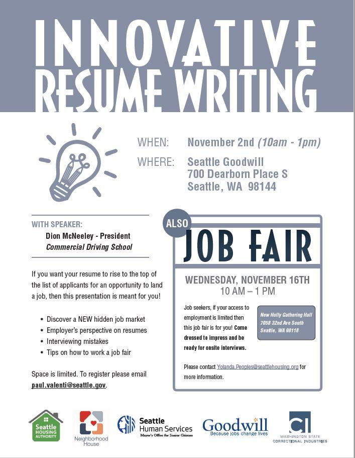innovative resume writing 11-2-16