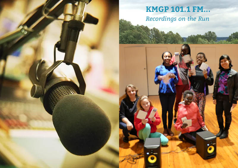 KMGP 101.1 FM: Recordings on the Run crew