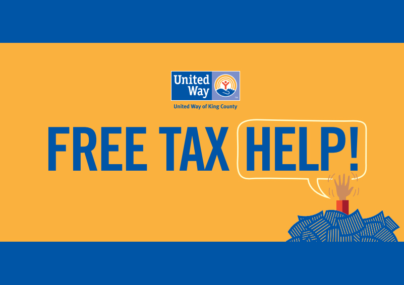 Free Tax Help from United Way of King County