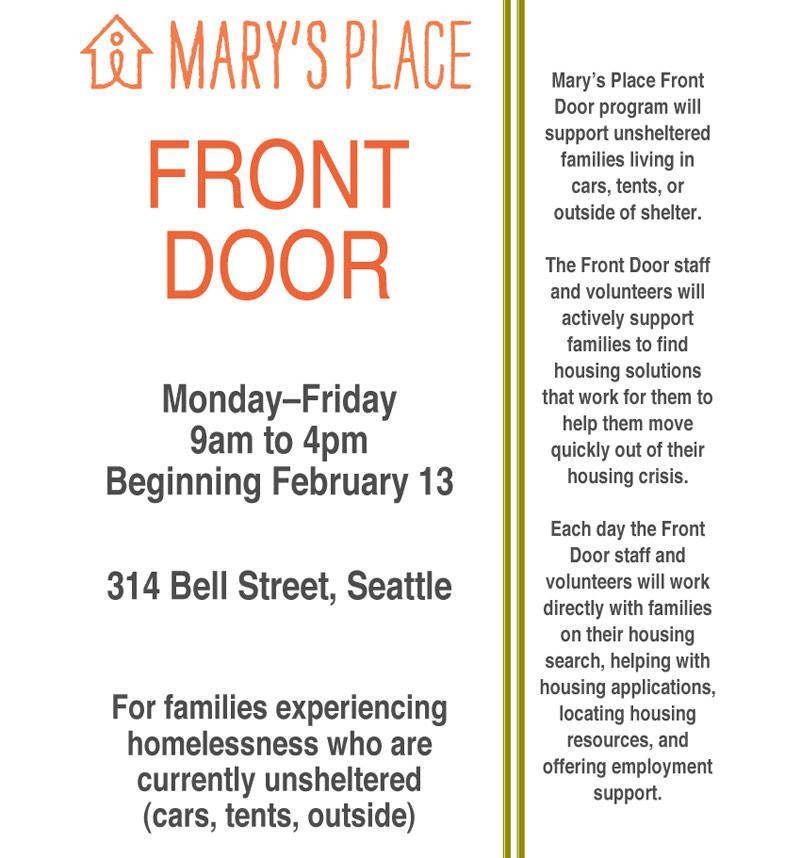Mary's Place Front-Door-Program-Flyer
