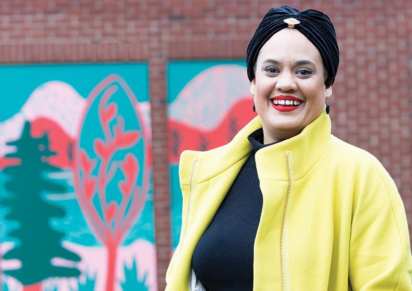 Lhorna Murray – artist, activist, community organizer & Sand Point Housing resident (photo & lead story by Chris Villiers   Writing, Photography & Strategic Communications)