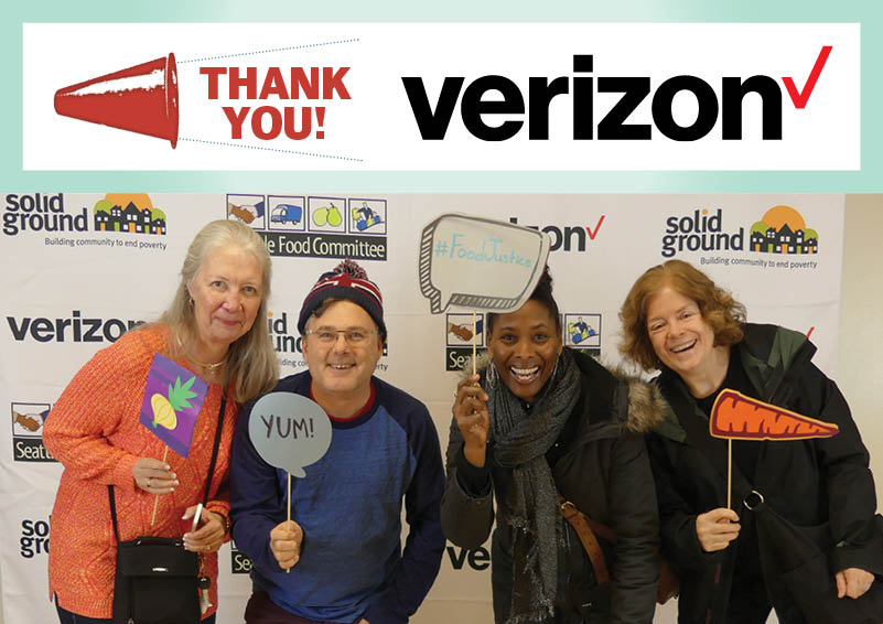 Verizon shines as 2018 Solid Ground events sponsor