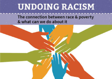 Solid Ground's Undoing Racism brochure