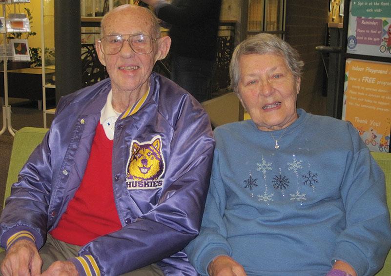Chris & Edna Berger, RSVP volunteers