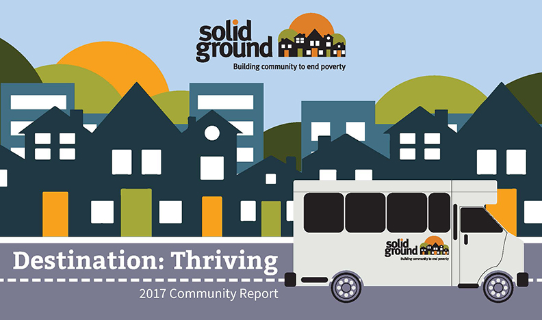 Solid Ground's 2017 Community Report cover