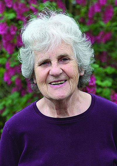 Donna Franklin, community volunteer at the Shoreline native plant garden