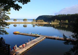 Dock at Camp Colman (photo used with permission of the YMCA)