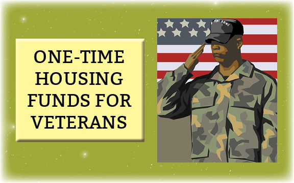 Funds to help veterans with evictions & move-in costs