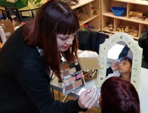 Hair & makeup artists were a big hit!