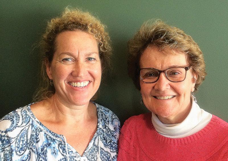 Lifelong Volunteer Driver, Jeannine Liston (l) & Satellite Site Coordinator, Nancy Lockwood (r) (Photo courtesy of Lifelong)