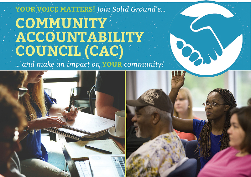 Join Solid Ground's Community Accountability Council!
