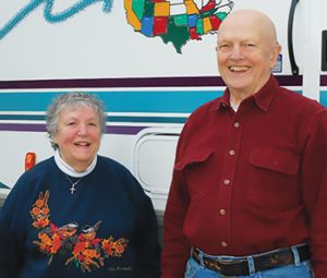 Helen & Joe Hesketh, long-time RSVP Ambassadors & volunteers