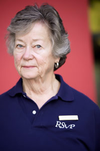 Pat Loftin, long-time RSVP Ambassador & volunteer