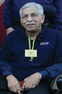 Paul Jeganathan, long-time RSVP Ambassador & volunteer