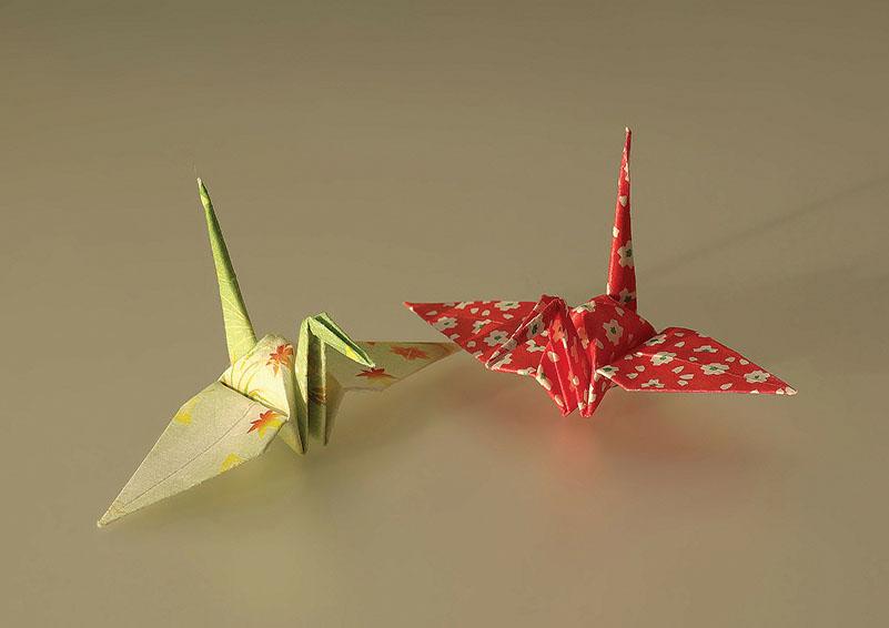 Image of origami birds