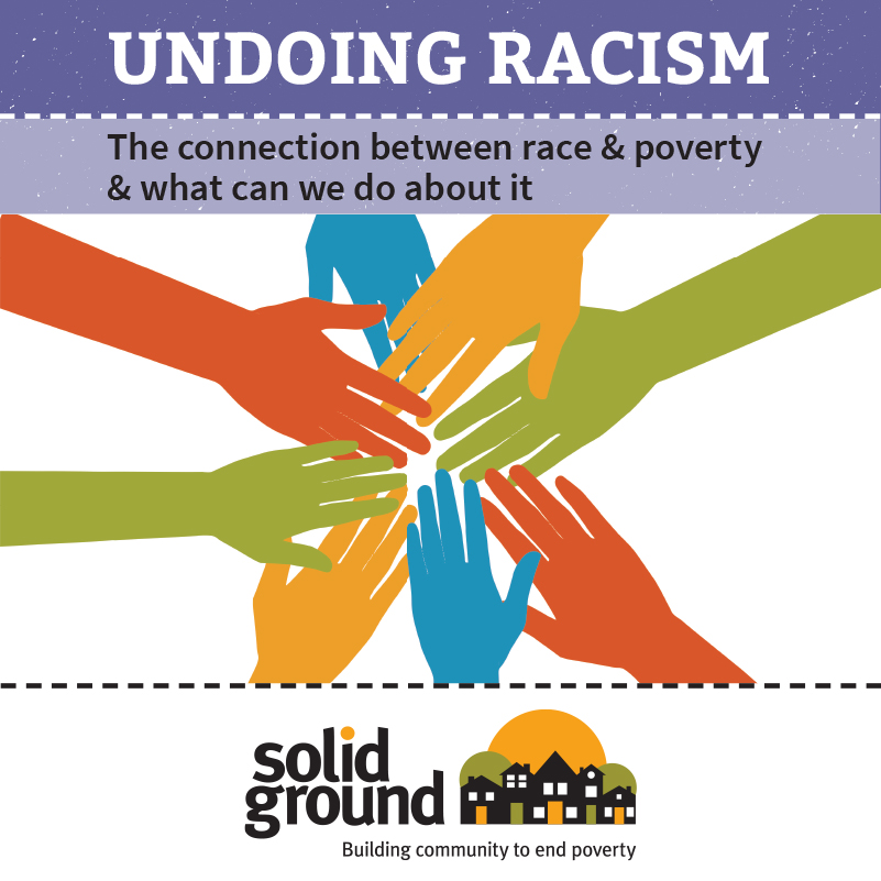 Solid Ground's Undoing Racism brochure cover