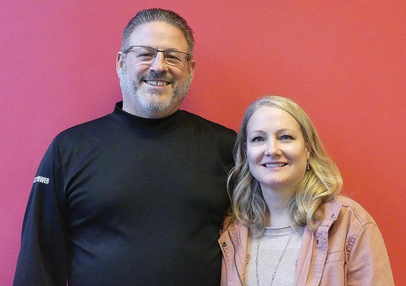 Portrait of Jim and Sue Laurenti, RSVP Home Helpers volunteers