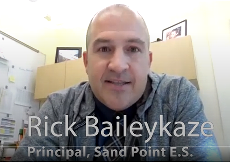 Headshot of Rick Baileykaze, principal of Sandpoint E.S.