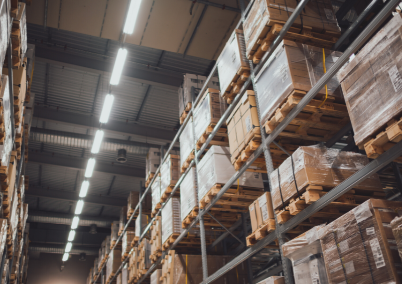 Picture of a warehouse